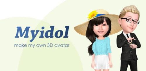 تطبيق Myidol أحد تطبيقات إنشاء الصورة الرمزية