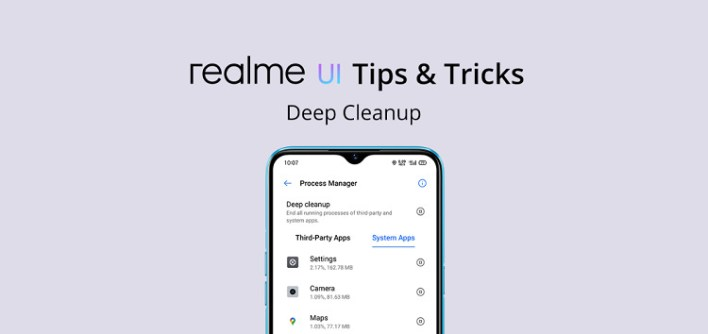 خاصية Deep Cleanup للحفاظ على البطارية