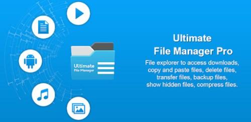 تطبيق Ultimate File Manager