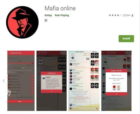 لعبة Mafia Online