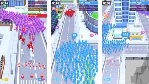 لعبة Crowd City أحد ألعاب Voodoo