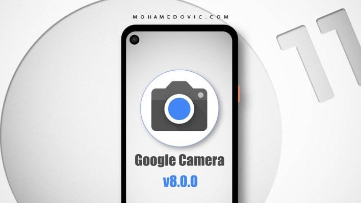 جوجل كاميرا 8.0