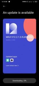 Poco f2 pro android 11 screenshot