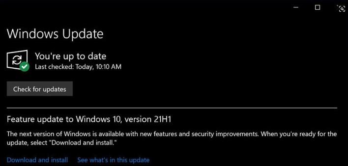 تحميل ويندوز 10 برو iso إصدار 21H1