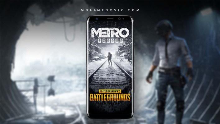 تحديث ببجي Exodus Metro