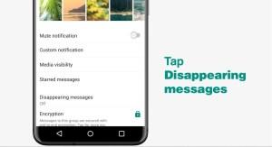 طريقة إرسال رسائل مختفية في واتساب