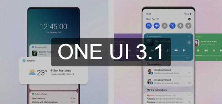تحديث One UI 3.1