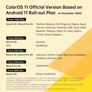 coloros 11 android 11 stable rollout 01