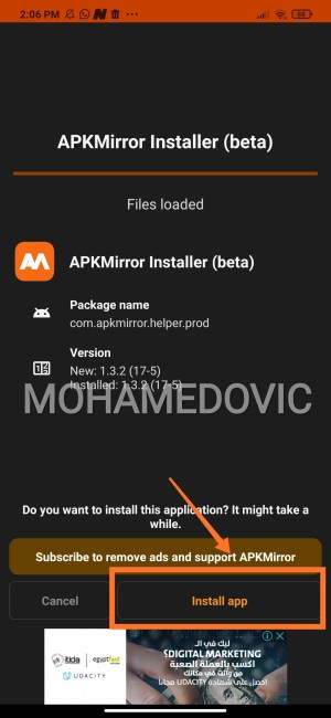 how to install apkm in smart tv7