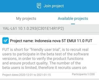 huawei nova 5t emui 11 beta indonesia 1