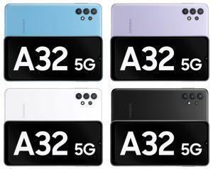 ألوان Galaxy A32