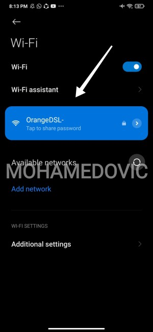 how to change dns wifi in android2