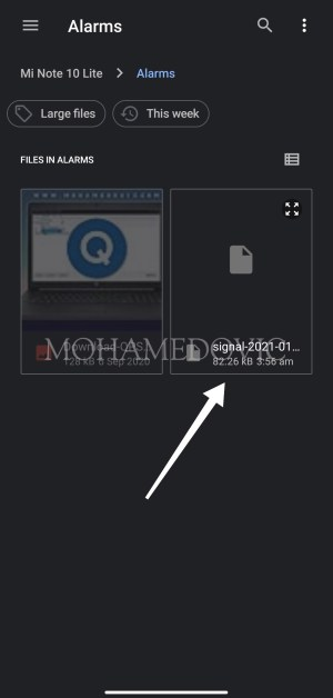 how to create backup and restore it in signal app mohamedovic 08