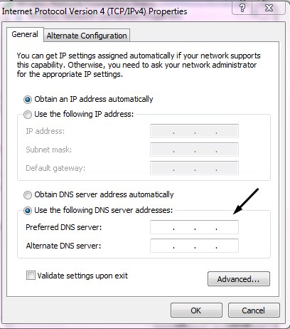 how to paste dns number in computer mohamedovic7
