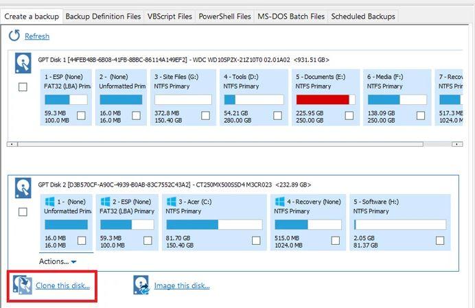 خطوات نقل الويندوز 10 إلى SSD جديد