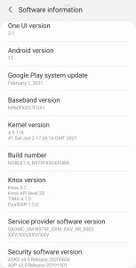 Samsung Galaxy Note 9 Android 11 ROM Mohamedovic 08