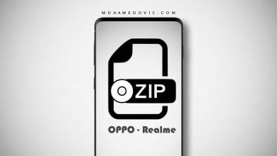 فك ضغط الروم الرسمي ozip لهاتف ريلمي اوبو