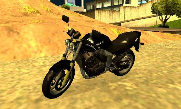 شفرات جاتا V الدراجة النارية الشهيرة