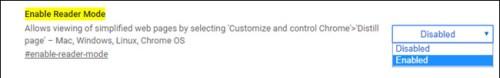 تفعيل وضعية القراءة في متصفح جوجل كروم