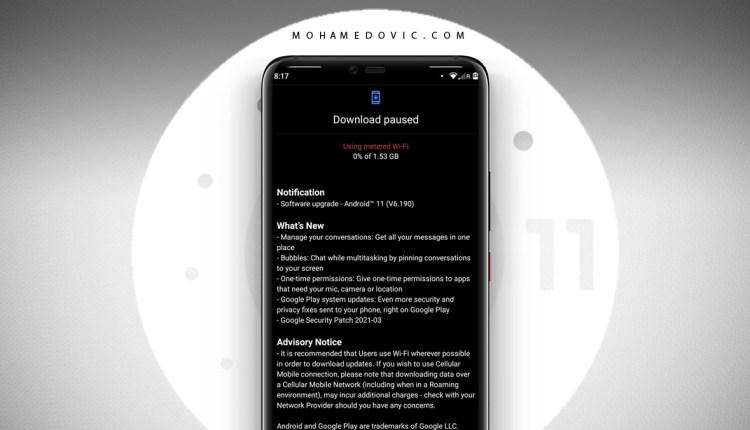 اندرويد 11 لهواتف نوكيا 8.1 3.2 2.3