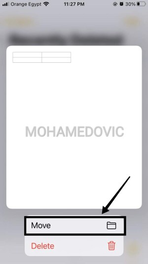 how to recover Removed Notes in Iphone mohamedovic 06