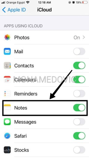 how to recover Removed Notes in Iphone mohamedovic 09