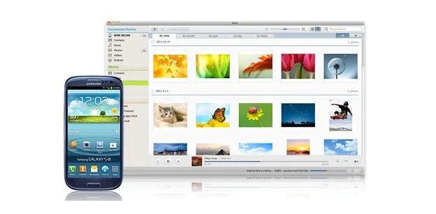 النسخ الاحتياطي للهاتف في Samsung Kies
