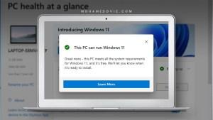 Download Microsoft PC Health Check App