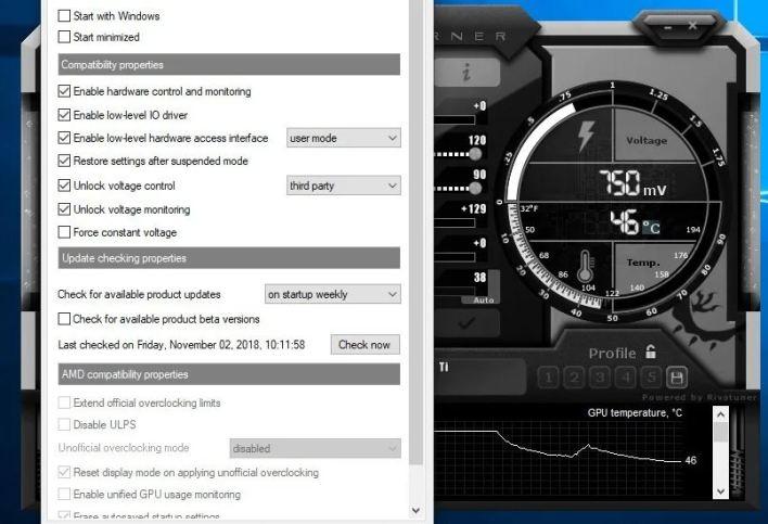 زيادة تردد الذاكرة Memory Clock لوحدة معالجة الرسوميات GPU