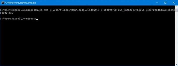 How to install Windows 11 Cumulative Update
