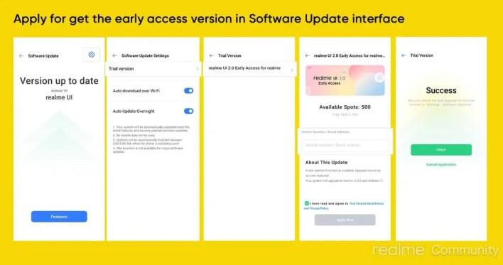 تحديث اندرويد 11 التجريبي مع واجهة Realme UI 2.0