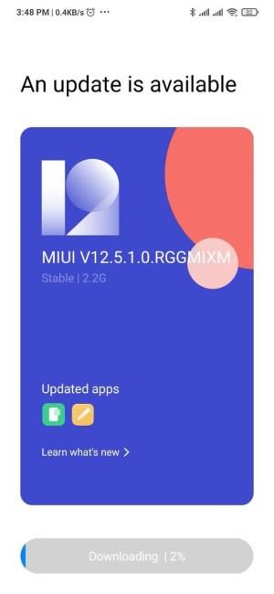 ريدمي نوت 8 برو اندرويد 11 مع MIUI 12.5
