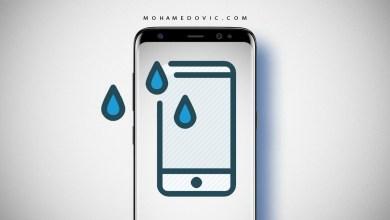 تطبيق التأكد من مقاومة المياه على هواتف الاندرويد