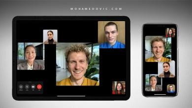 كيف تستخدم مكالمات فيس تايم FaceTime بين أندرويد وآيفون بنظام iOS 15