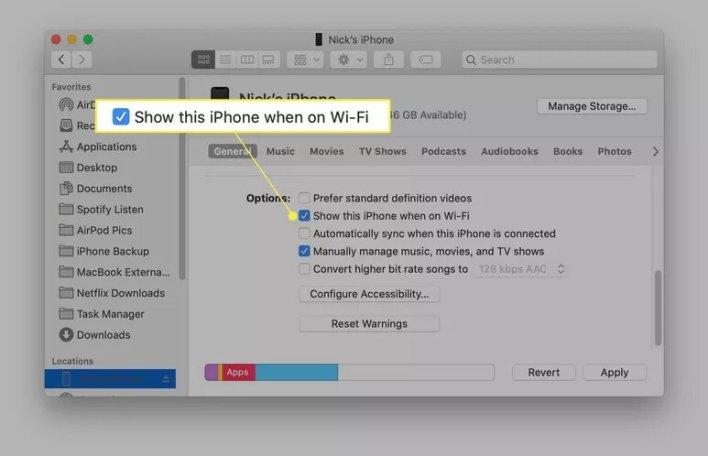 كيفية عمل نسخة احتياطية من iPhone 5