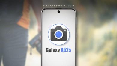 جوجل كاميرا لهاتف سامسونج A52s