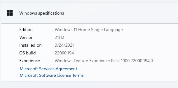 Stable Windows 11 Installed