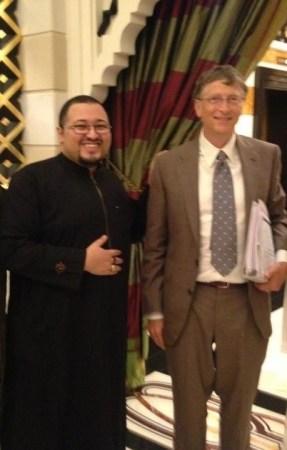 لقائي مع السيد بيل جايتس مؤسس شركة مايكروسوفت