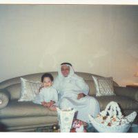 مع جدي الشيخ محمد صالح باحارث