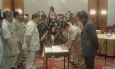 Pelantikan dan penandataganan pengurus baru DPN HKTI