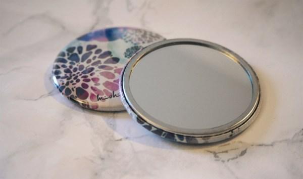 miroir de poche femme mohanita créations