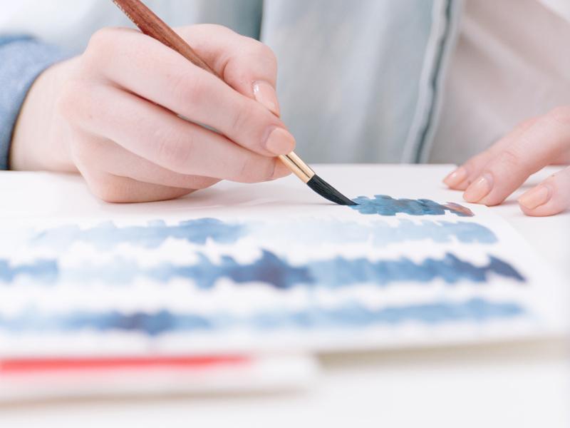 studio de design graphique et textile dessin peinture art graphique créatrice lifestyle