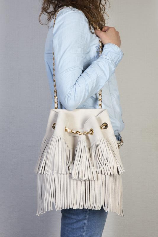 sac seau porté femme urbaine urban chic mode vetements look total jena printemps ete mode cuir maroquinerie
