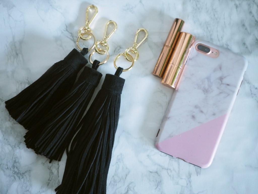 accessoires sac femme cuir porte clef