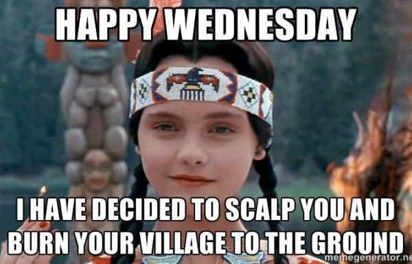 MURDER HOMOGENIZED Wednesday-addams-meme-tribe-called-red-2