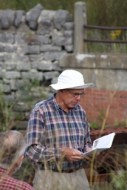 John Naple, tour guide. Photo by Bob Hartig
