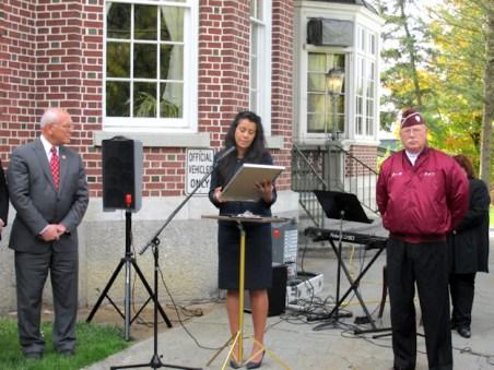 Tonko, Julia Caro, Community & Economic Director Rob Von Hasseln. Photo by Catherine Pikul.