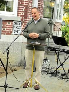 County Executive Matthew Ossenfort. Photo by Catherine Pikul.