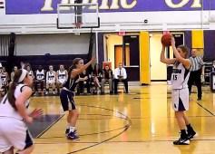 Caitlin Gannon running the AHS offense