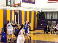 #24 Autumn Duemler's shot goes in